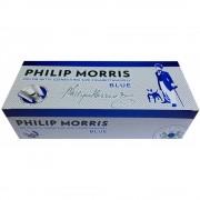 Tuburi tigari Philip Morris albastru cu carbon activ