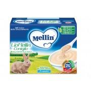 Mellin Liofilizzati - Liomellin Coniglio - Confezione da 30 g ℮ (3 vasetti x 10 g)