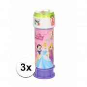 Bellenblaas Disney Princess 3 stuks