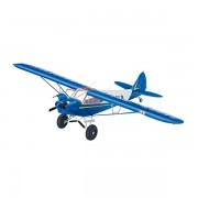 Model avion piper pa18 with bushwheels revell 04890