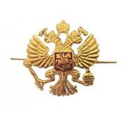 GanwearÃ'® Russian Army Military Imperial Eagle Crest Cossack Trapper Ushanka Hat Cap Beret Metal Pin Badge Kokarda by GanwearÃ'®