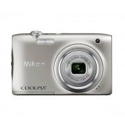 Nikon Coolpix A100 (srebrny)- szybka wysyłka! - Raty 10 x 42,90 zł - szybka wysyłka!