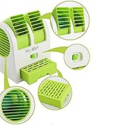 Mini-Small-Fan-Cooling-Portable-Desktop-Dual-Bladeless- Scented Air-Cooler-USB
