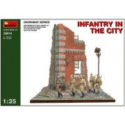 Miniart 1:35 - Infantry In The City Diorama - Min36014