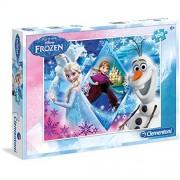 Clementoni 100 pieces Puzzle FROZEN la reine des Neiges de Disney Elsa Anna et Olaf