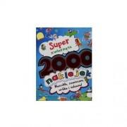 Super zwierzęta 2000 naklejek - Darmowa dostawa!