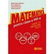 Matematica cls 8 - Exercitii probleme teste - Stefan Smarandache