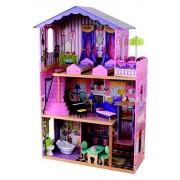 KidKraft 65082 - La mansión de mis sueños, casa de muñecas (87x34x126 cm)