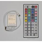 44 gombos távirányítós RGB LED-vezérlő - infrás