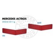 Mercedes Actros 2002-2011 ülés láb borítás PÁR PIROS