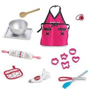 American Girl Grace French Bakery Bakeware Set for 18 Doll Pan Rolling Pin Bowl NEW