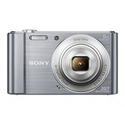 Sony Cybershot DSC-W810/SC 20.1MP Digital Camera (Silver)