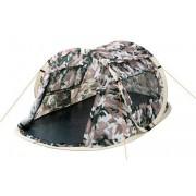 CampFeuer - Wurfzelt, Quicktent - 2 Personen, Flecktarn Camouflage