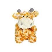 Suki Gifts 22708 - Yummy Luvvies 'Gizelle Giraffe' Giraffa di Peluche Profumato di Frutti di Bosco, 10Cm, Bianco e Marrone Dorato