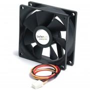 Ventilador Startech FAN8X25TX3L de Repuesto para Disipador de Procesador o Caja Chasis PC 80mmx25mm TX3/Negro
