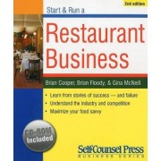 Start and Run a Restaurant Business by Brian Cooper
