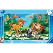 Puzzle Bambi, 15 piese, RAVENSBURGER Puzzle Copii