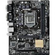 Дънна платка ASUS H110M-C, Intel LGA 1151, DDR4, PCIe, PCI, ASUS-MB-H110M-C