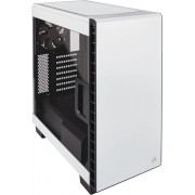 Corsair Carbide Clear 400C Midi-Toren Wit computerbehuizing