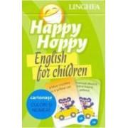 Happy Hoppy. English for Children. Cartonase Culori si numere