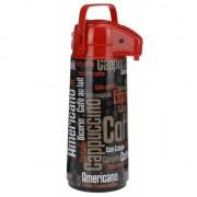 Plastic thermoskan zwart/rood voor koffie 1900 ml