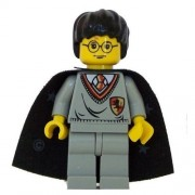 Harry Potter (Gryffindor Shield Torso Cape YF) - LEGO Harry Potter Figure