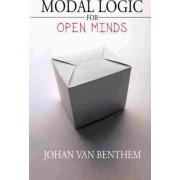 Modal Logic for Open Minds by Professor of Logic Johan Van Benthem
