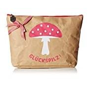 Adelheid Women's Glückspilz Kulturbeutel Papier Cosmetic bag