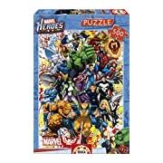 Educa 15560 - Marvel Heroes - 500 pieces - Marvel Puzzle