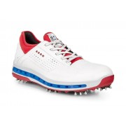 Pantofi golf barbati ECCO Cool (Albi cu rosu)