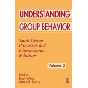 Understanding Group Behavior: Consensual Action by Small Groups Volume 1 by Erich H. Witte