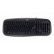 Tastatura Cu Fir Genius KB-M200 USB Negru