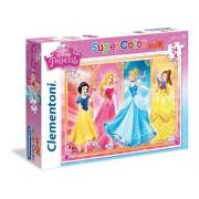 Clementoni 24471 - Puzzle Princess, 24 Maxi Pezzi, Multicolore
