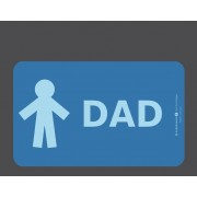 """Planchette pour Petit déjeuner """"Dad"""""""
