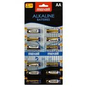 Maxell 12x Alkaline LR6 AA Pilas (Alcalino, Cilíndrico, 1,5V) Multi