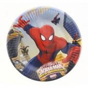 Pókemberes tányér, 20 cm, 8 db/cs