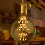 YouOKLight E27 3W del bulbo G80 + E27 Edison Light Socket (220-240 AC)