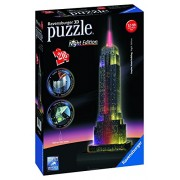 Ravensburger - Puzzle 3D Building: Empire State Building Night Edition (12566 1)