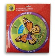 Teaching Tree Educational Spinner - The Life Cycle of a Butterfly