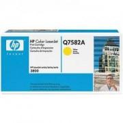 Тонер касета за Hewlett Packard Color LaserJet 3800 Yellow (Q7582A)