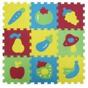 Covoras de joaca din spuma Ludi fructe