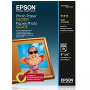 Хартия Epson Photo Paper Glossy 10x15cm 500 sheet, C13S042549