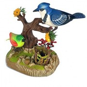 Beautiful Chirping Bird Realistic Motion Sensor Toy - Realistic Sounds and Movement!