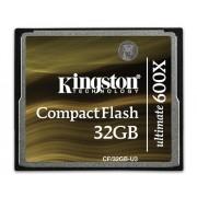 Kingston 32GB CompactFlash CF Memory Card Ultimate 600x