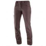 Salomon - Women's Wayfarer Pant - Trekkinghose Gr 42 - Regular braun/schwarz/grau