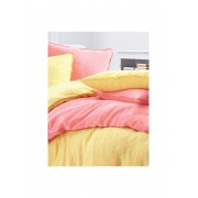 Proflax Bettbezug ca. 135x200cm Proflax rot