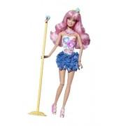 Mattel W1596 Barbie Fashionistas - Muñeca Cutie estrella del rock