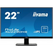 "Monitor IPS LED iiyama 21.5"" ProLite XU2290HS-B1, Full HD, DVI-D, HDMI, 5ms, Boxe (Negru) + Bitdefender Antivirus Plus 2017, 1 PC, 1 an, Licenta noua, Scratch Card"