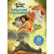 Disney the Jungle Book Creature Colouring by Parragon Books Ltd