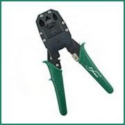 Pinza per crimpare i plug 4 - 6 - 8 pin per rete LAN, ADSL e Telefono